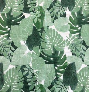 tafelzeil botanische bladeren palm