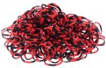 loom bands confetti rood zwart