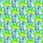 ovaal tafelzeil palm bladeren