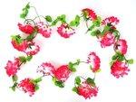 bloemenslinger fietsslingers bloemenstreng roze