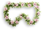 bloemenslingers rozen fietsslingers