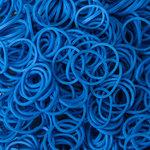 loombands donkerblauw
