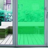 Plakfolie transparant groen (45cm)_