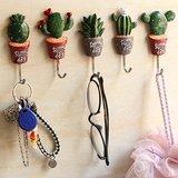 wandhaakjes cactus