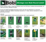 Bobi statief round donkerblauw RAL 5003_