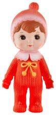 Retro poppetje Woodland Lapin & me oranje/rood