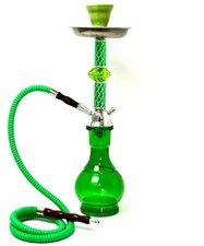 Waterpijp Arab groen 1 slang (45 cm)