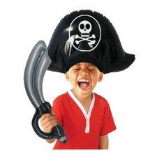 Opblaasbare Piraten Hoed en Zwaard