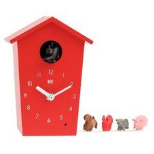 KooKoo klok AnimalHouse rood (koekoeksklok)