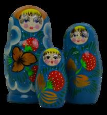 Babouska set 3 delig (304)