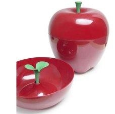 Qualy appel schaal - opbergbak 30x30cm