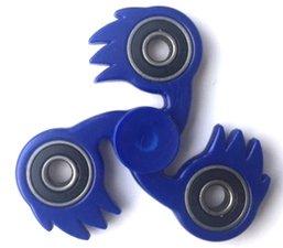 Fidget spinner fireball blauw