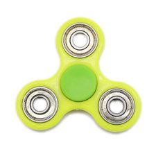 Fidget spinner licht groen