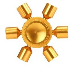 Fidget hand spinner 'sun' metaal goud