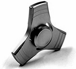 Fidget metalen spinner zwart