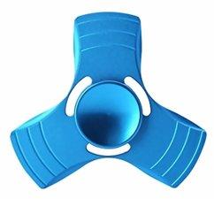 Fidget metalen spinner blauw