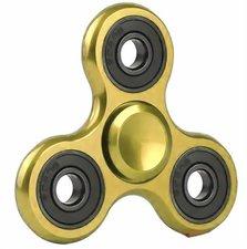 Fidget spinner metallic goud-zwart