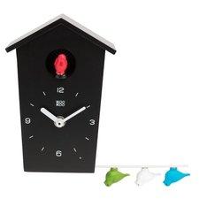 KooKoo klok Birdhouse mini zwart (koekoeksklok)