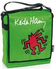 Luiertas Keith Haring groen