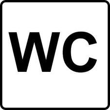 XL Sticker WC