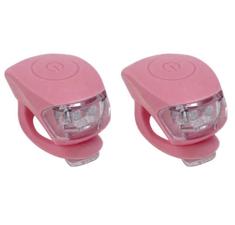 Urban Proof siliconen LED fietslampjes warm roze