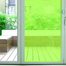 Aslan raamfolie transparant lichtgroen RAL 6018 (125cm)