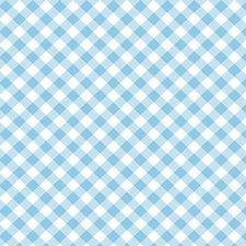 Plakfolie diagonaal blauw (45cm)