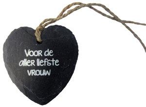 Stenen hart Voor de allerliefste vrouw