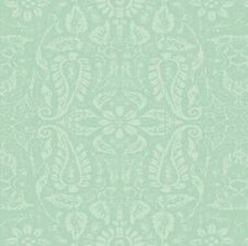 Tafelzeil ornament mint