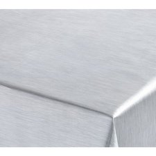 55x140cm Restje tafelzeil RVS-look