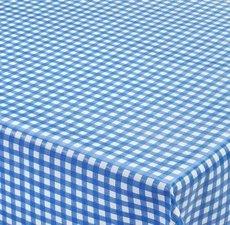 Tafelzeil ruitje blauw Paty