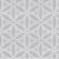 30x140cm Restje tafelzeil orbit zilver/grijs