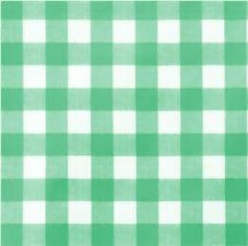 Ovaal tafelzeil grote ruit groen