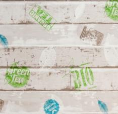 Tafelzeil steigerhout bio & green tea