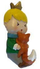 Kinderkapstok meisje met vosje