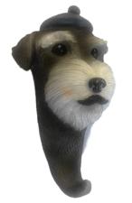 Wandhaak hond: Schnauzer