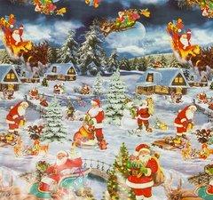 Kerst tafelzeil winter wonderland