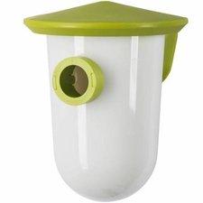 Kunststof vogelhuisje groen