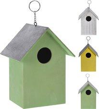 Goedkoop vogelhuisje groen