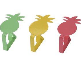 Tafelkleedklemmen ananas  (4st.)