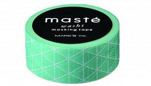Masking tape Masté triangel mintgroen