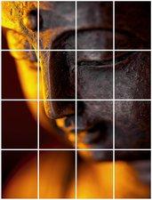 Foto tegelstickers 20x15 'Boeddha sfeer' 80x60 cm hxb