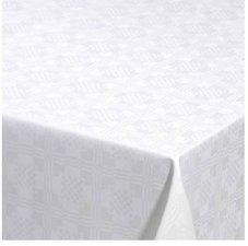 30x140cm Restje tafelzeil damast vierkantjes