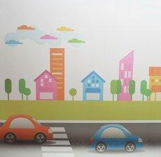 Statisch raamfolie autootjes (70cm)