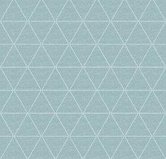 70x140cm Restje wasbaar tafelzeil triangle mintgroen