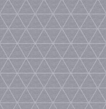 50x140cm Restje wasbaar tafelzeil triangle donkergrijs