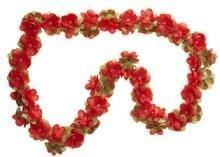 Basil fietsslinger bloemenslinger rood