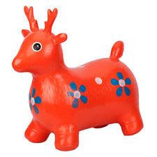 Skippy hert rood zithoogte 27cm