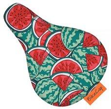Zadelhoesje kinderfiets watermeloen