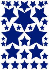 Autostickers sterren blauw